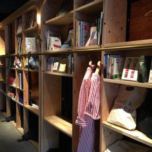 本好きの天国、BOOK AND BED TOKYOに泊まってきました。